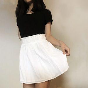 Gap White Skirt